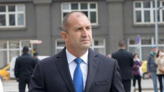 Румен Радев поздрави ГЕРБ за резултата от изборите