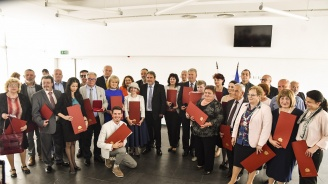 Боил Банов връчи на културни дейци от цялата страна отличия по повод 24 май