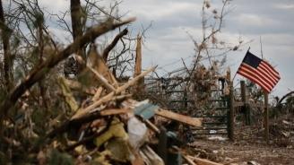 Един загинал и над 130 ранени при няколко торнада в Охайо и Индиана