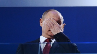 Рейтингът на Владимир Путин с черен рекорд