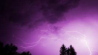 Жълт код за интензивни валежи и гръмотевични бури утре