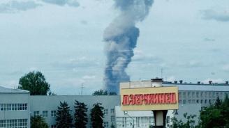 89 са пострадалите при взривове в руски завод за експлозиви
