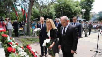 Русе почетe паметта на Христо Ботев и загиналите за свободата на България