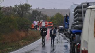 Временно се ограничава движението по пътя Стара Загора - Нова Загора