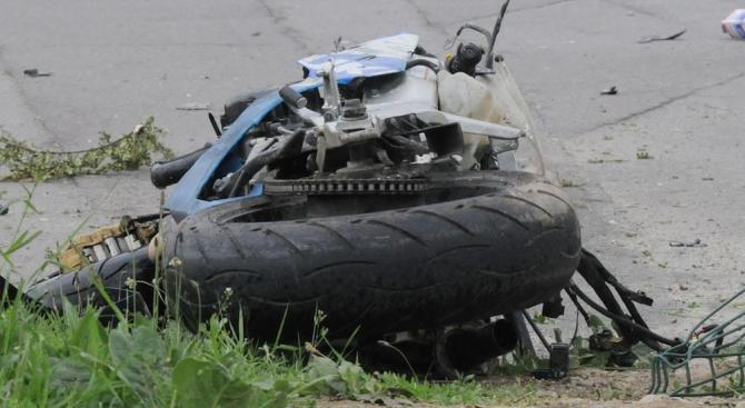 39-годишен мъж загина при катастрофа с мотор край Сандански. Инцидентът