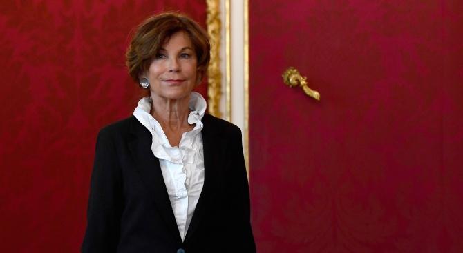 Новото австрийско временно правителство, което ще работи до предсрочните избори