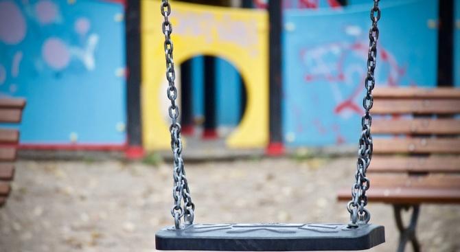Кметът на Димитровград Иво Димов откри нова детска площадка днес,