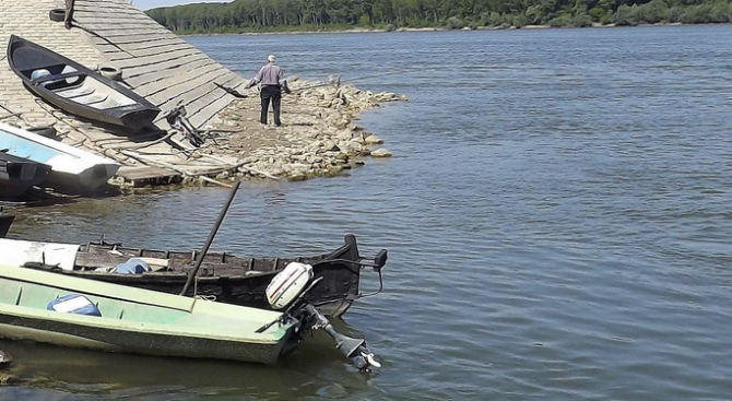 Нивото на река Дунав се повишава и днес при Видин