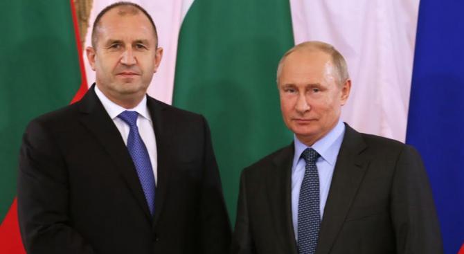 Радев към Путин: България е член на ЕС и НАТО, но това не изключва развитието на интензивни отношения с Русия