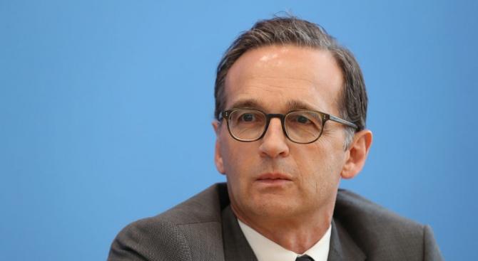 Германският външен министър Хайко Маас каза, че е важно да