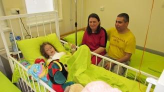 Пострадалата от полицейската граната в Силистра 6-годишна Катерина претърпя втора операция
