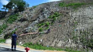 Пороите в района на Пловдив са активизирали свлачище по пътя Асеновград - Смолян