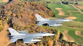 Конгресът на САЩ одобри финансовата рамка за осем Ф-16 за България