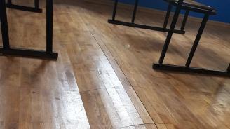 "БСП - София показа как ГЕРБ ""усвоява"" 2 млн. лв. евросредства чрез ремонт на училище"