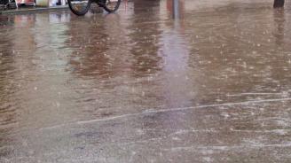 Проливен дъжд наводни Пазарджик