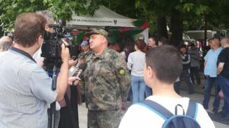 """""""Бъди войник"""" представи военната професия пред жители и гости на Монтана"""