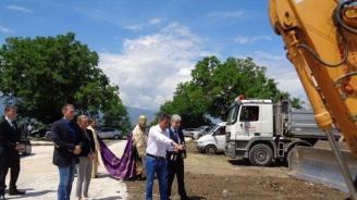 Нено Димов даде начало на изграждането на компостираща инсталация за отпадъци