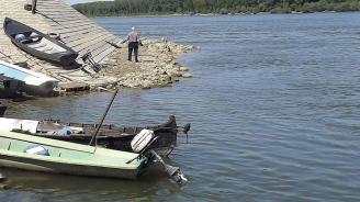 Нивото на река Дунав се повишава при Видин