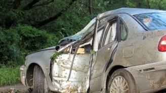 Катастрофа на пътя Варна - Бургас: Един мъж е тежко ранен