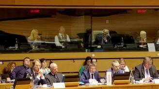 """Данаил Кирилов взе участие заседанието на Съвета """"Правосъдие и вътрешни работи"""" в Люксембург"""