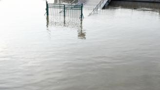 Втора степен за опасност от наводнение заради нивото на р. Дунав при Лом