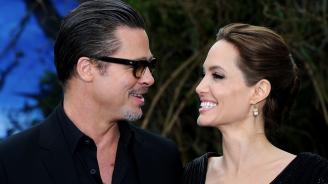 Брад Пит заплаши Джоли с глоба