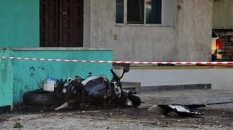 Моторист е в болница след катастрофа в Пловдив