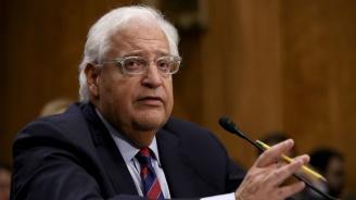 Израел има право да анексира частот Западния бряг, смятапосланикът на САЩ