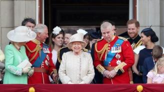Внушителен военен парад за рождения ден на кралица Елизабет Втора