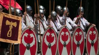 """Античният фестивал """"Марцианопол""""в Девня събра римляни и варвари"""