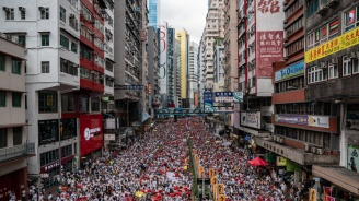 Стотици хиляди протестираха в Хонконг срещу законопроект заекстрадиране в Китай