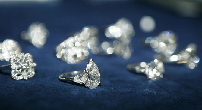 Руската полиция откри диаманти на стойност 3 милиона долара и