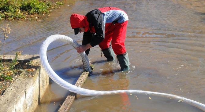 Очаква се днес бедственото положение в община Стражица да бъде отменено