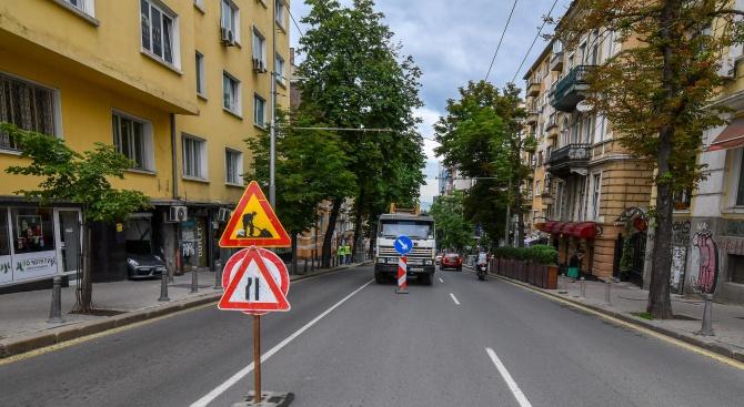 """Столичната ул.""""Раковски"""" остава затворена още 2 дни"""