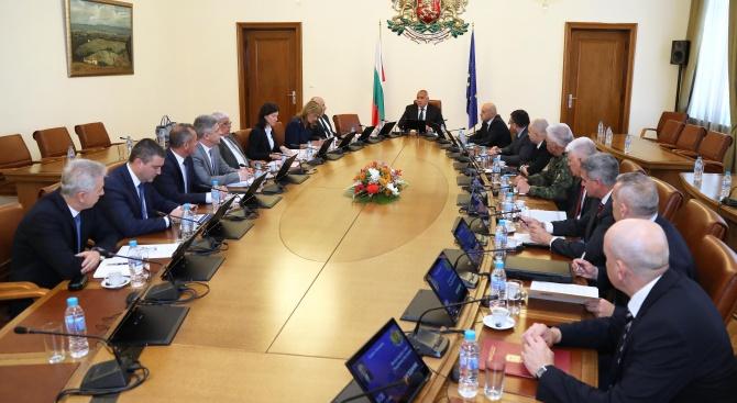 Съветът по сигурността обсъди проектодоклада за националната сигурност