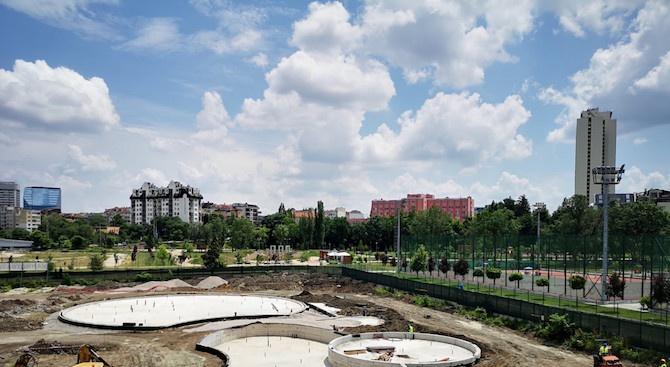 До края на годината ще бъде завършен първият общински аквапарк в София