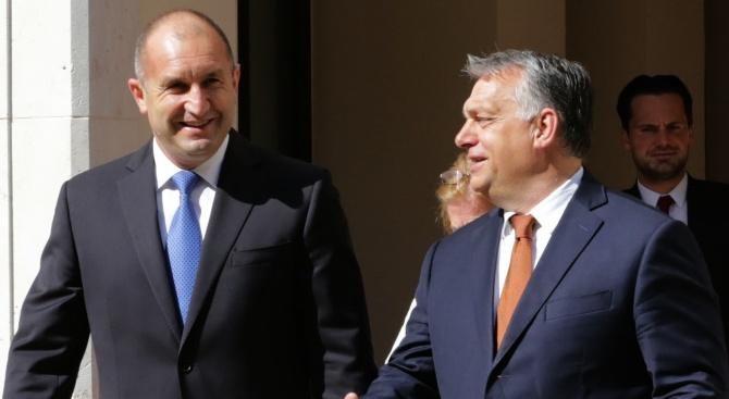Партньорството между България и Унгария е изградено върху дълбоки исторически,