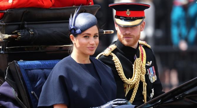 Принц Хари и Меган показаха нова снимка на бебето Арчи по случай Деня на бащата
