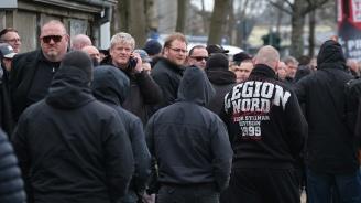 Крайнодесни протестираха срещу убийство в германския град Кемниц