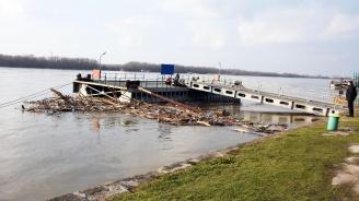 Нивото на река Дунав се е понижило при Ново село