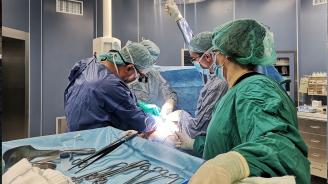 Трансплантолозите от ВМА с операционни зали от световна класа