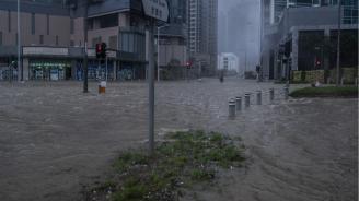 Проливни дъждове взеха жертви и причиниха наводнения в Китай