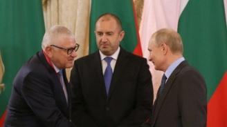 Петър Кънев от БСП взе участие в президентската делегация в Санкт Петербург