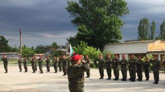 Новоприети военнослужещи положиха военна клетва в Хасково