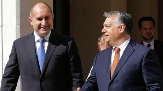 ЕС няма кризисен план в случай на миграционен натиск, обявиха Радев и Орбан