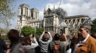 Френските магнати, които обещаха дарения за Нотр Дам, не са платили и цент