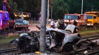 Млада жена издъхна след тежка катастрофа в София