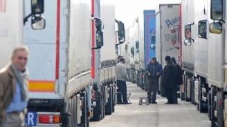 """На ГКПП """"Дунав мост"""" при Видин трафикът е интензивен на изход за товарни автомобили"""