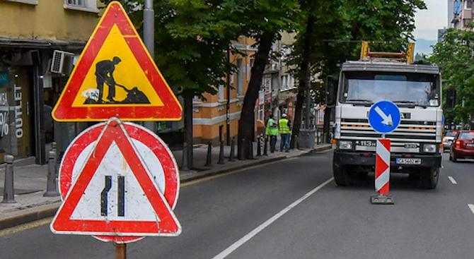 Въвежда се временна организация на движението за ремонт на мостово