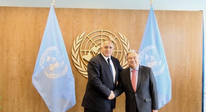 Премиерът Бойко Борисов изрази пълната си подкрепа за амбицията на